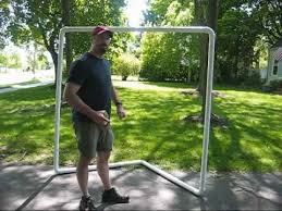 Diy Lacrosse Goal | how to make a lacrosse goal for 30 youtube