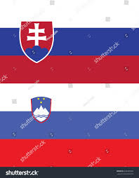Slovak Flag Flag Slovakia Slovenia Stock Vector 293285909 Shutterstock