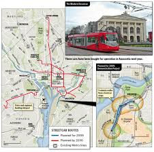 Atlanta Streetcar Map by Dc Streetcar Systems By John Smatlak