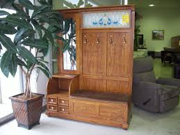 Tree Bench Ideas Bench Antique Hall Tree With Bench And Mirror Best Hall Trees