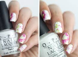 floral nail art water decals born pretty store xf 1414