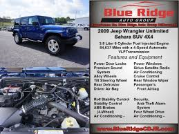 jeep wrangler 4 wheel drive system pre owned 2009 jeep wrangler unlimited 4d sport utility in