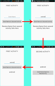 android start activity android startactivityforresult exle tutorial android exles