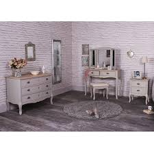 bedroom set with vanity table grey bedroom furniture dressing table set large chest of drawers