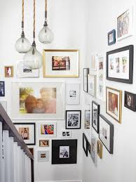 staircase gallery wall inspiration life on shady lane