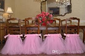 tutu chair covers chair skirt wedding birthday party supplies chair tutu chair