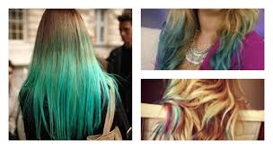 how to dip dye your hair with food coloring youtube