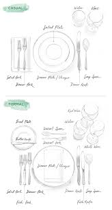 how to set a formal table how to set a table illustrated guide to casual formal entertaining