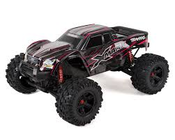 traxxas maxx 8s 4wd brushless rtr monster truck red tra77086