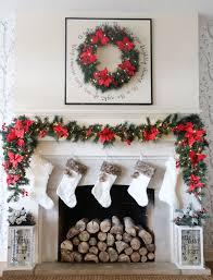 Elegant Christmas Mantel Decor by Elegant And Chic Christmas Mantel Decorations