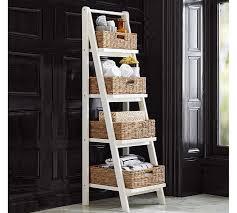 Cabinet Baskets Storage White Storage Cabinet Pottery Barn
