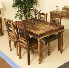 solid wood dining room sets sheesham wood dining table jali set solid furniture buy 4