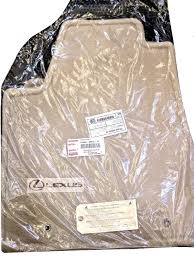 lexus brand floor mats lexus oem factory floor mat set 2004 2006 rx330 and 2007 2009