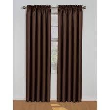 Walmart Blackout Cloth by Eclipse Samara Blackout Energy Efficient Curtain Walmart Com