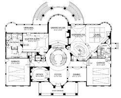 six bedroom floor plans european home with 6 bdrms 9032 sq ft house plan 106 1037