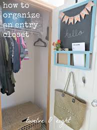 houzz entryway organized entryway closet twelveoeight