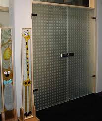 Frosted Glass Exterior Doors by Fantastic Solid Glass Doors And Room Dividers Inviting Natural