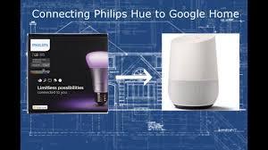 smart lights google home connect google home to philips hue smart home setup youtube