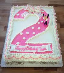 Sheet Cake Decoration Minnie Mouse Sheet Cake With Fondant Bow U2014 Trefzger U0027s Bakery