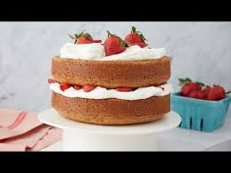 Barefoot Contessa Strawberry Country Cake Youtube