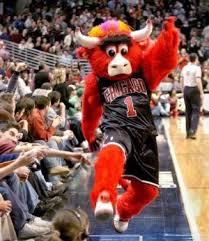 Benny Bull Halloween Costume Chicago Bulls Mascot Benny Bull Nba Mascots