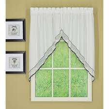 Kitchen Curtains Swags by Buy Kitchen Curtains Valances And Swags From Bed Bath U0026 Beyond