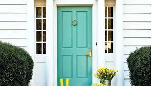 front door charming green front door color for home design front