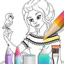 princess coloring book android apps on google play