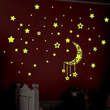 Home Decoration Wall Stickers Little Star Fluorescent Luminous Wall Sticker Living Room Home