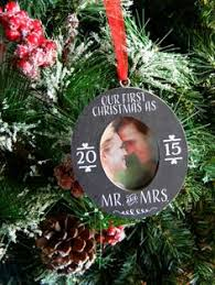 Mr Christmas Ornament - our first christmas ornament first year married ornament