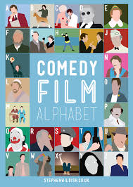 Film Comedy Quiz | comedy film alphabet poster quizzes your comedy movie knowledge