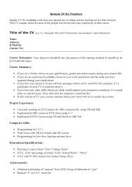 Scholarship In Resume Sample Achievements In Resume For Freshers Sample Achievements In