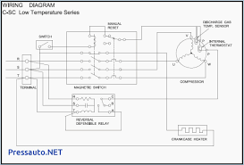 terrific single phase compressor wiring diagram with relay ideas