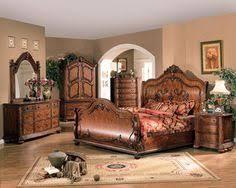Bedroom Furniture Set Villa Sonoma King Platform Bed Dark Havertys Furniture My