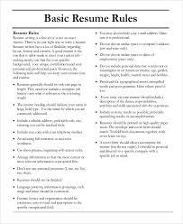 Best Resume Heading by Basic Resumes Stunning Design Sample Basic Resume 5 Resume