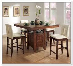 Kitchen Bar Table With Storage Kitchen Table With Storage Base Home Design Ideas