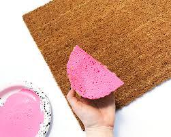 Summer Doormats Diy Summer Doormat Easy To Follow Tutorial Housewives