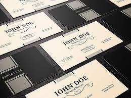 business card designs psd 50 best free psd business card templates