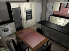 ex display contemporary leather effect kitchen with industrial
