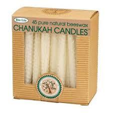 rite lite menorah rite lite 45ct eco friendly beeswax chanukah hanukkah