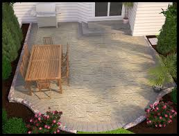 Homemade Patio Ideas Home Design Ideas And Pictures - Simple backyard patio designs