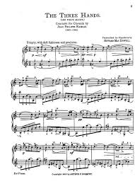 edward macdowell sonatas etudes concertos sheet music
