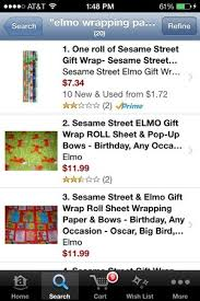 elmo christmas wrapping paper where to find elmo christmas wrapping paper babycenter