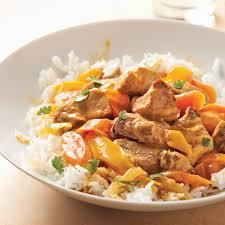 porc cuisine mijoté de porc à la thaï recettes cuisine et nutrition