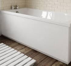 ergonomic designs bathroom white bath side panel 1700mm ebay