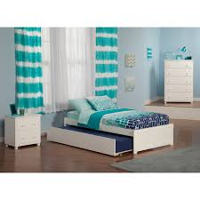 Twin Size Bedroom Sets Powell White Twin Bedroom In A Box Hayneedle