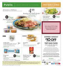 publix weekly ad november 9 15 2016