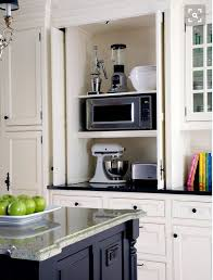 kitchen cabinet appliance garage love the appliance garage to keep appliances handy and plugged in
