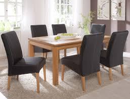 Esszimmertisch Schwarz En Casa Esszimmertisch Für 6 Stühle Eiche Weiß 140x90cm Küche