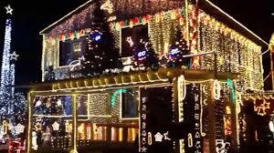 Bad Hall Das Lichterhaus Vom Weihnachtsmann In Bad Hall 2014 Youtube